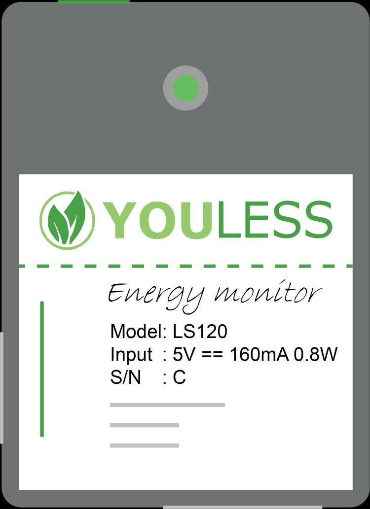 YouLess P1 installatie